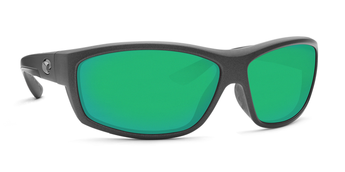 Saltbreak Sunglasses bk188-matte-steel-gray-metallic-green-mirror-lens-angle4.png