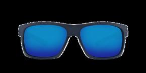 Half Moon Sunglasses hfm155-shiny-black-matte-black-blue-mirror-lens-angle3.png