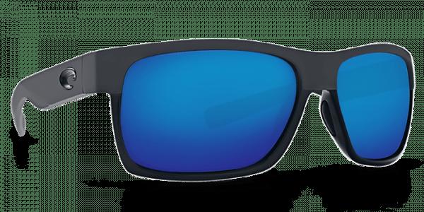 Half Moon Sunglasses hfm155-shiny-black-matte-black-blue-mirror-lens-angle4.png