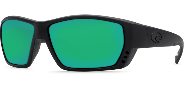 Tuna Alley Sunglasses ta01-blackout-green-mirror-lens-angle2.png