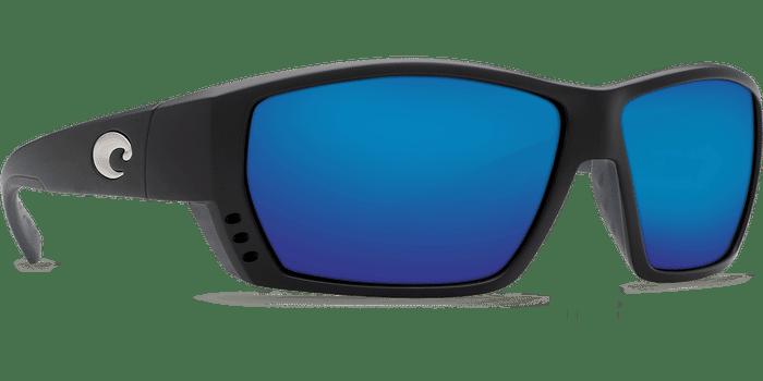 Tuna Alley Sunglasses ta11-matte-black-blue-mirror-lens-angle4 (1).png