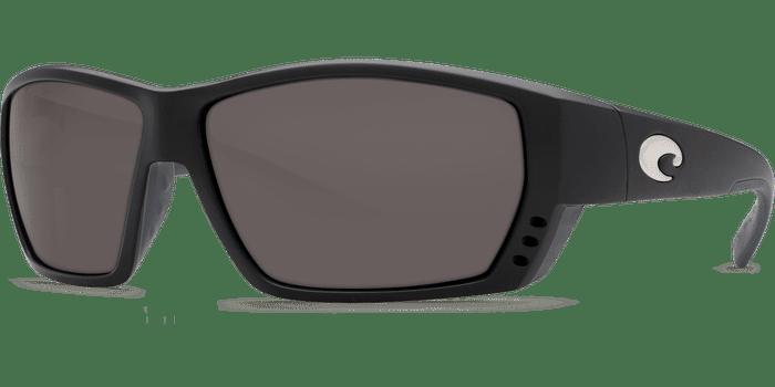 Tuna Alley Sunglasses ta11-matte-black-gray-lens-angle2.png