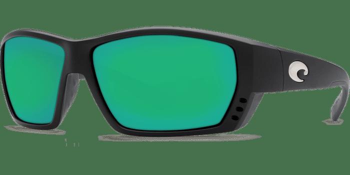 Tuna Alley Sunglasses ta11-matte-black-green-mirror-lens-angle2 (1).png