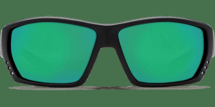 Tuna Alley Sunglasses ta11-matte-black-green-mirror-lens-angle3.png