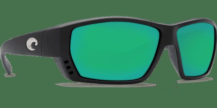 Tuna Alley Sunglasses ta11-matte-black-green-mirror-lens-angle4.png