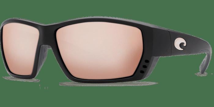 Tuna Alley Sunglasses ta11-matte-black-silver-mirror-lens-angle2.png