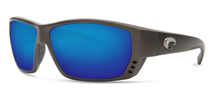 Tuna Alley Sunglasses ta188-matte-steel-gray-metallic-blue-mirror-lens-angle2.png