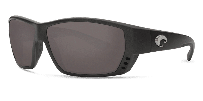 Tuna Alley Sunglasses ta188-matte-steel-gray-metallic-gray-lens-angle2.png