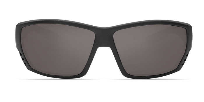 Tuna Alley Sunglasses ta188-matte-steel-gray-metallic-gray-lens-angle3.png