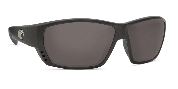 Tuna Alley Sunglasses ta188-matte-steel-gray-metallic-gray-lens-angle4.png