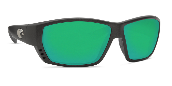 Tuna Alley Sunglasses ta188-matte-steel-gray-metallic-green-mirror-lens-angle4.png