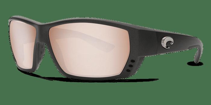 Tuna Alley Sunglasses ta188-matte-steel-gray-metallic-silver-mirror-lens-angle2.png