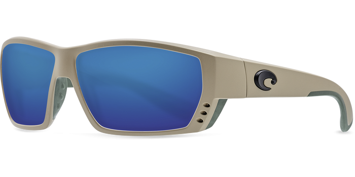 Tuna Alley Sunglasses ta248-sand-blue-mirror-lens-angle2.png