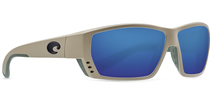 Tuna Alley Sunglasses ta248-sand-blue-mirror-lens-angle4 (1).png