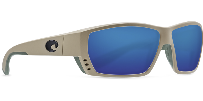 Tuna Alley Sunglasses ta248-sand-blue-mirror-lens-angle4.png