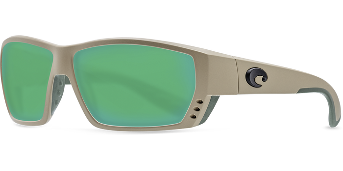 Tuna Alley Sunglasses ta248-sand-green-mirror-lens-angle2.png