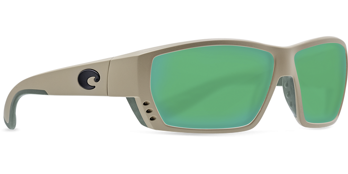 Tuna Alley Sunglasses ta248-sand-green-mirror-lens-angle4.png