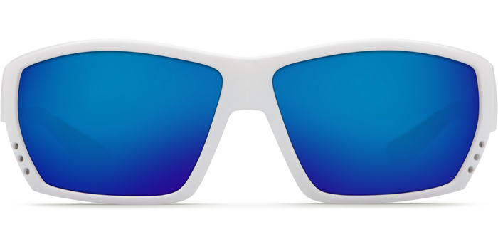 Tuna Alley Sunglasses ta25-white-blue-mirror-lens-angle3.png