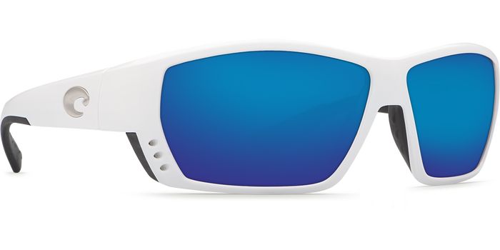 Tuna Alley Sunglasses ta25-white-blue-mirror-lens-angle4.png