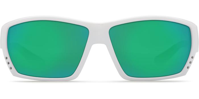 Tuna Alley Sunglasses ta25-white-green-mirror-lens-angle3.png