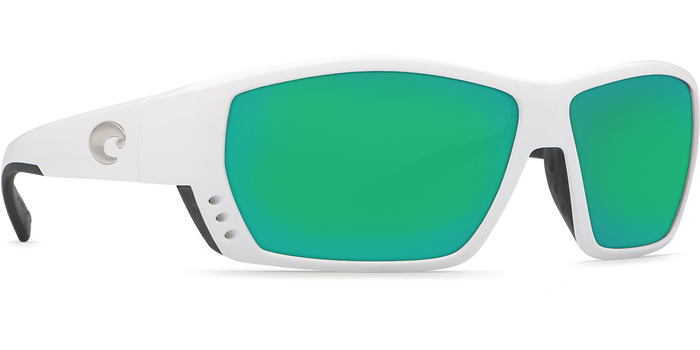 Tuna Alley Sunglasses ta25-white-green-mirror-lens-angle4.png