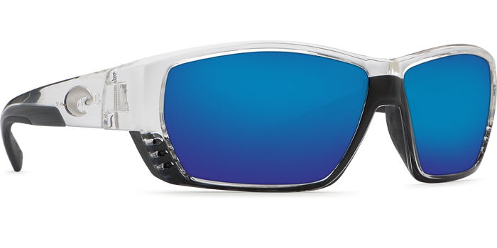 Tuna Alley Sunglasses ta39-shiny-crystal-blue-mirror-lens-angle4.png