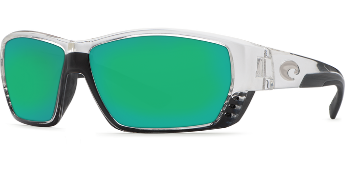 Tuna Alley Sunglasses ta39-shiny-crystal-green-mirror-lens-angle2.png