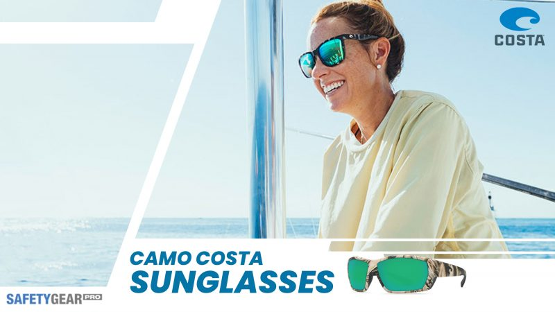 Lady wearing camo Costas
