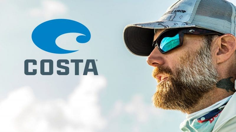 Man in Costa Sunglasses