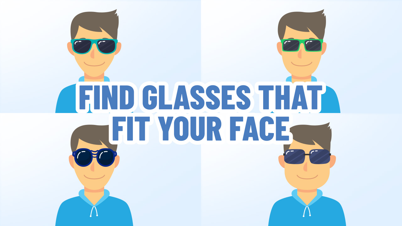 Find Sunglasses that Fit Your Face
