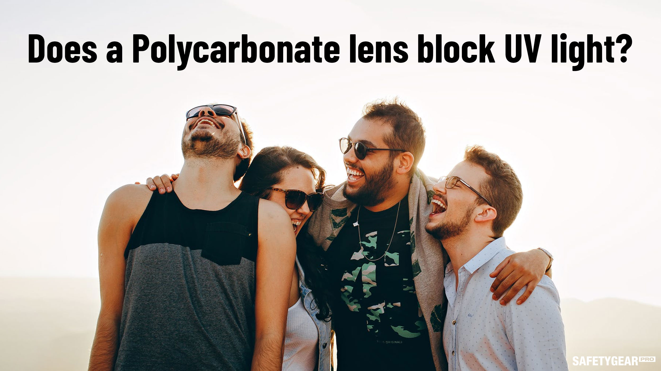 Does a polycarbonate lens block UV light?