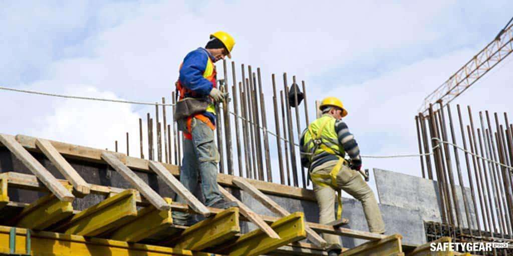 men working wearing hardhats