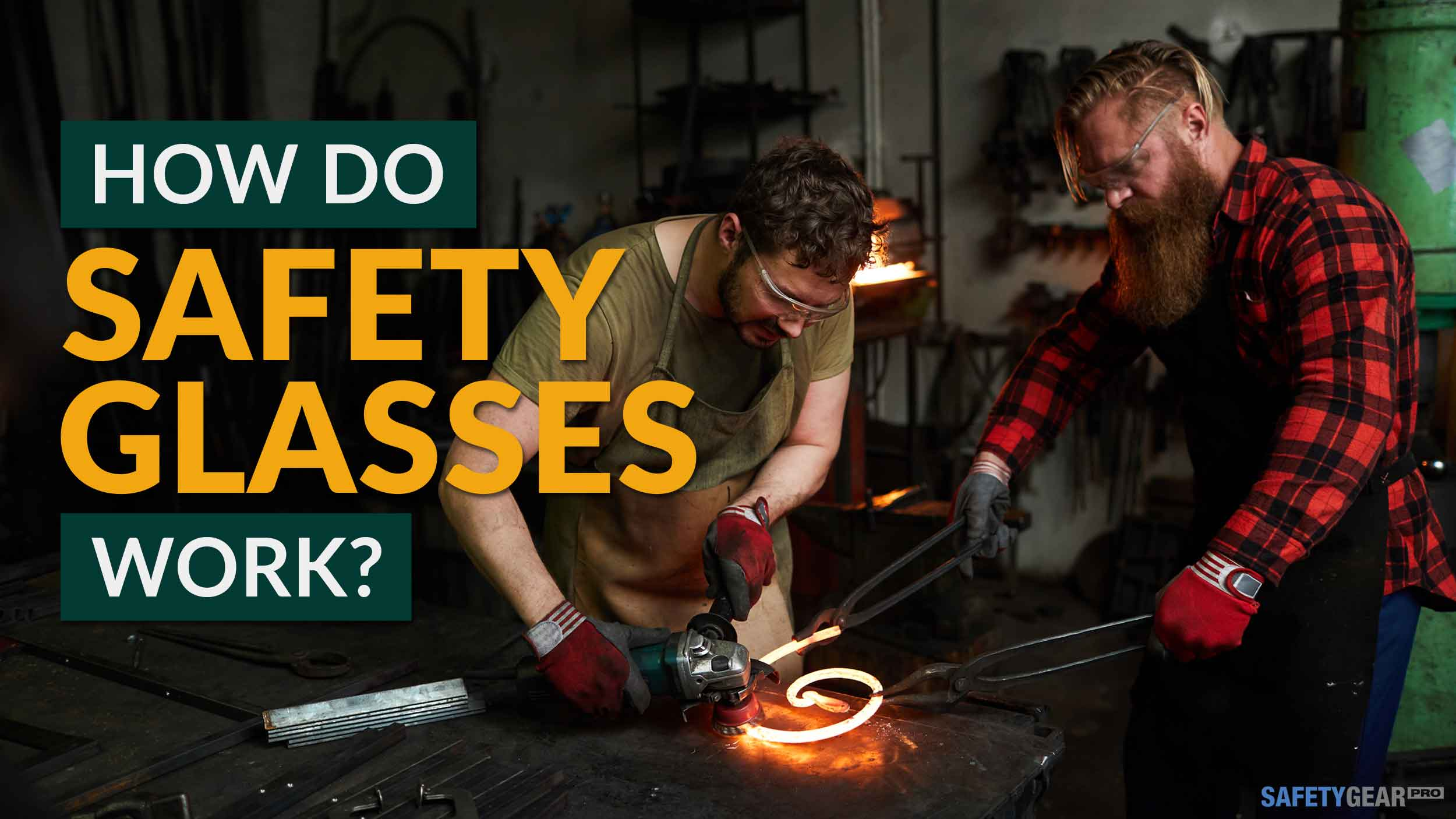 How safety glasses work