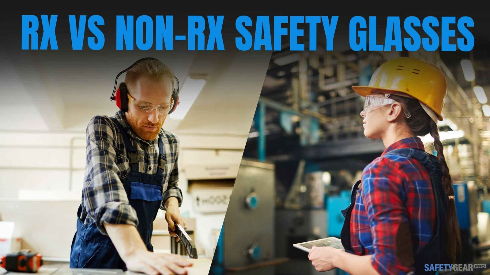 Rx safety glasses header