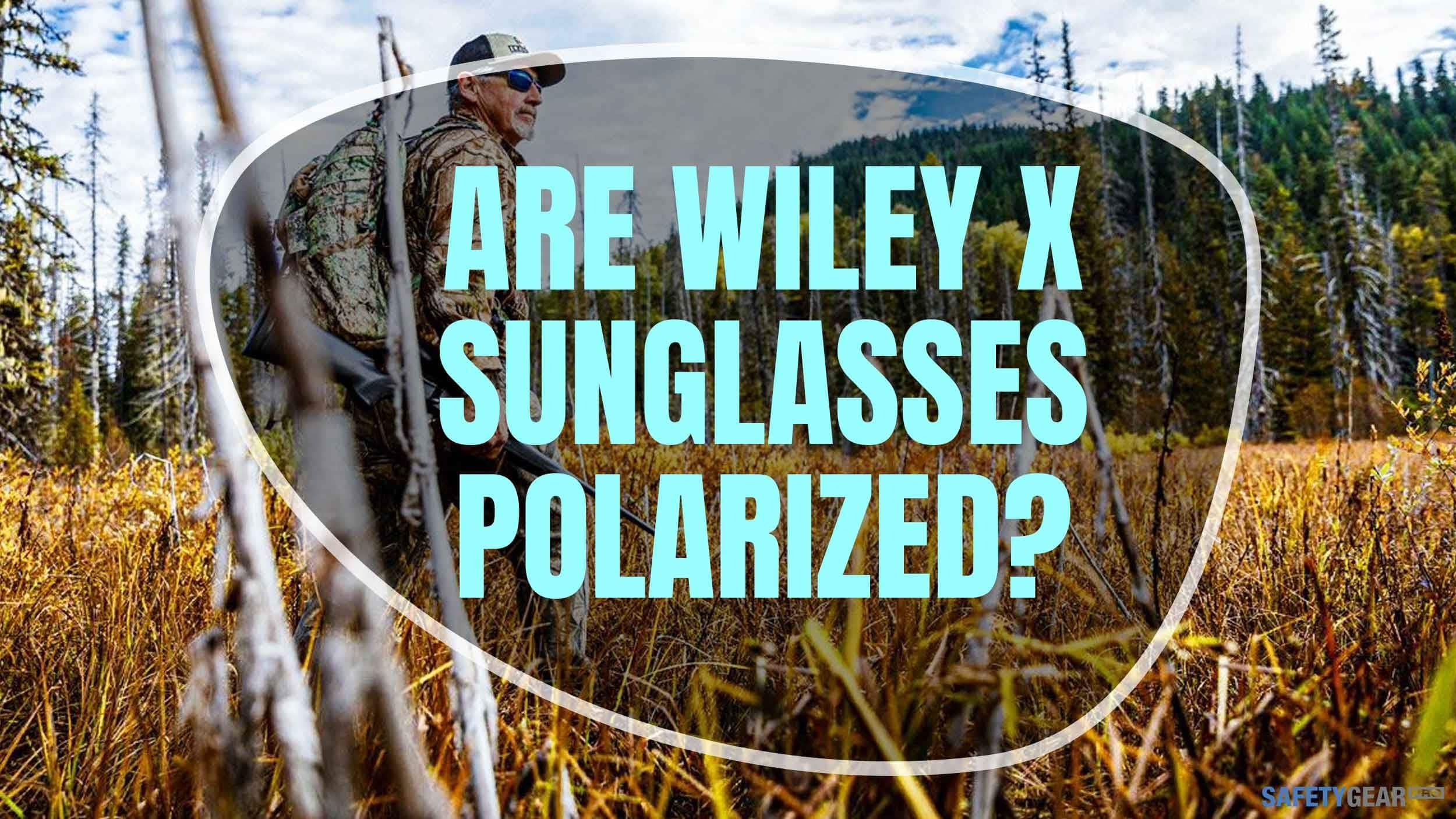 Are Wiley X Sunglasses Polarized Header