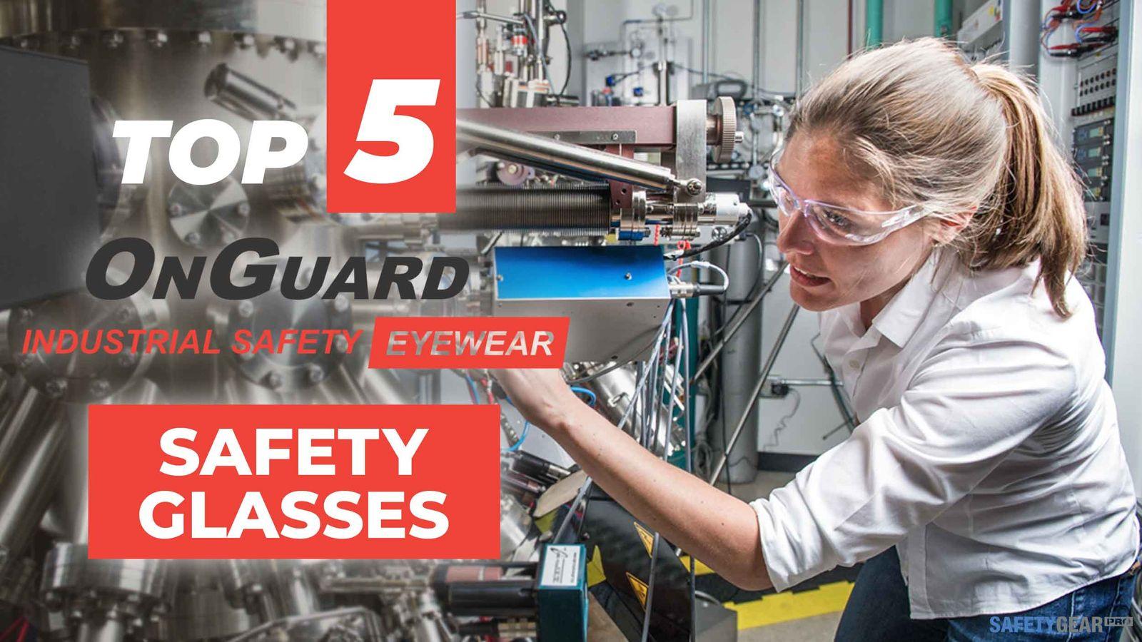 Onguard Safety Glasses Header