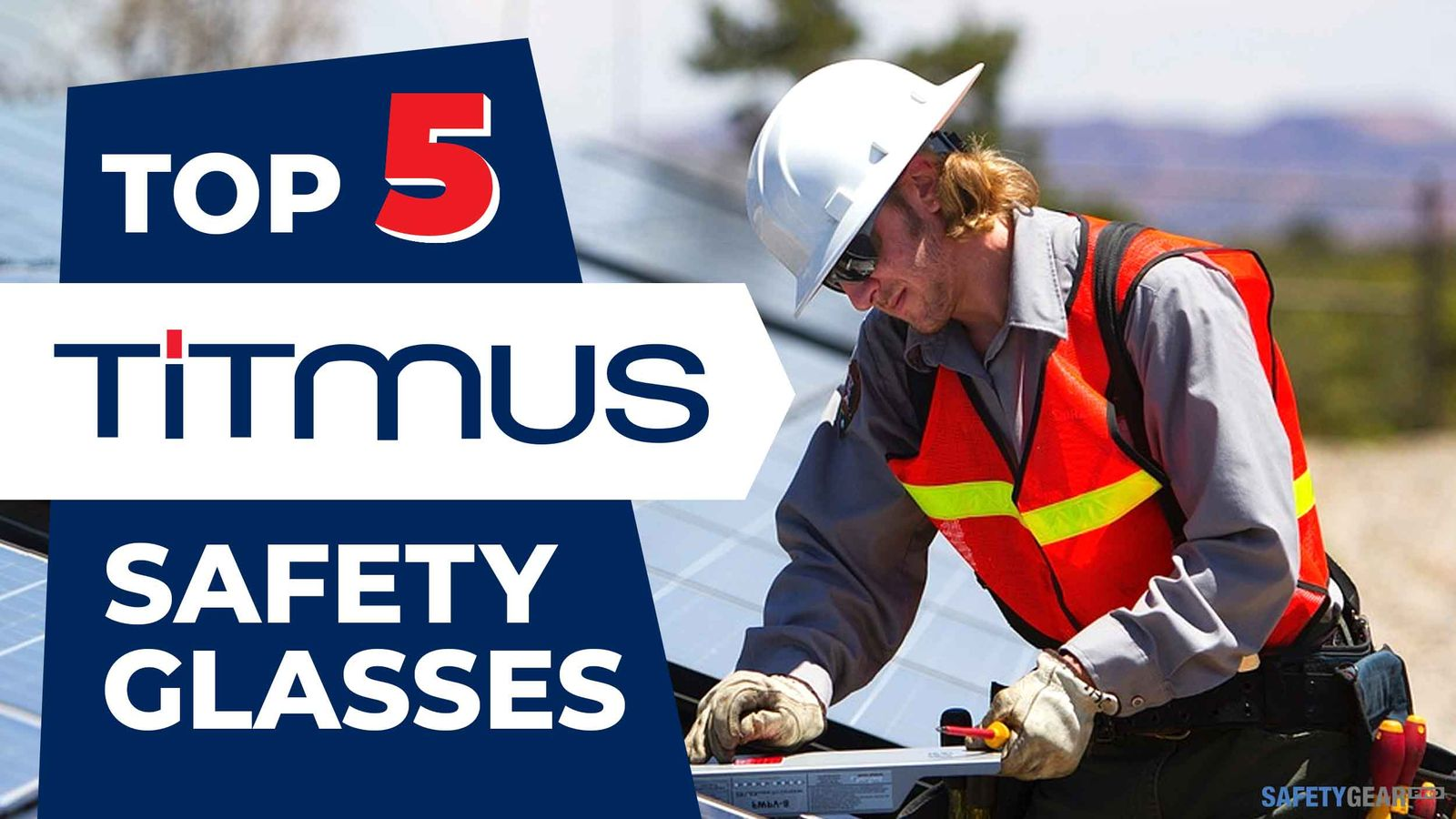 Titmus Safety Glasses Header