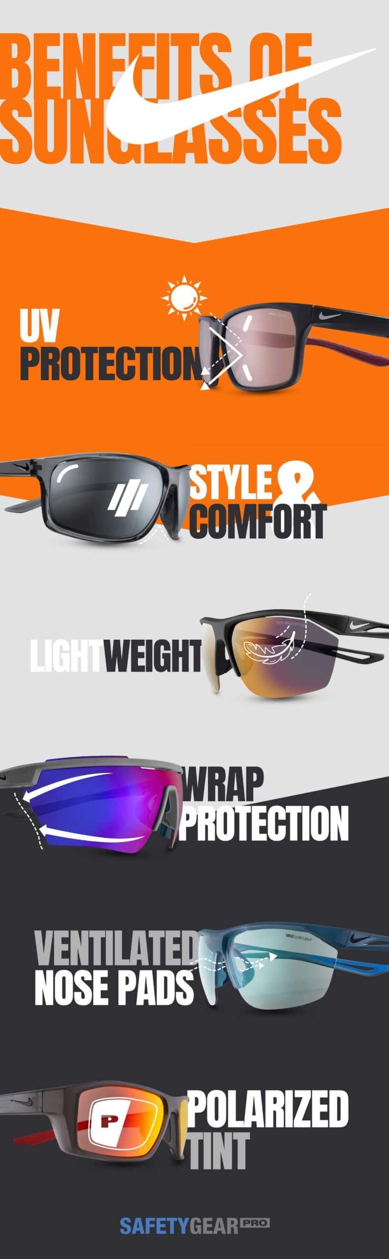Nuclear Perversión móvil  Benefits of Nike Glasses | Safety Gear Pro