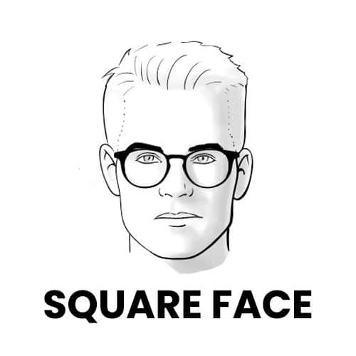 Ray-Bans for Square Face Shape