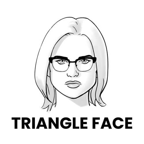 Ray-Bans for Triangle Face Shape