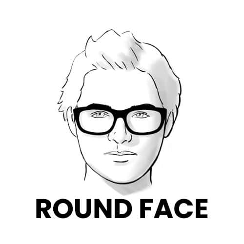 Ray-Bans for Round Face Shape