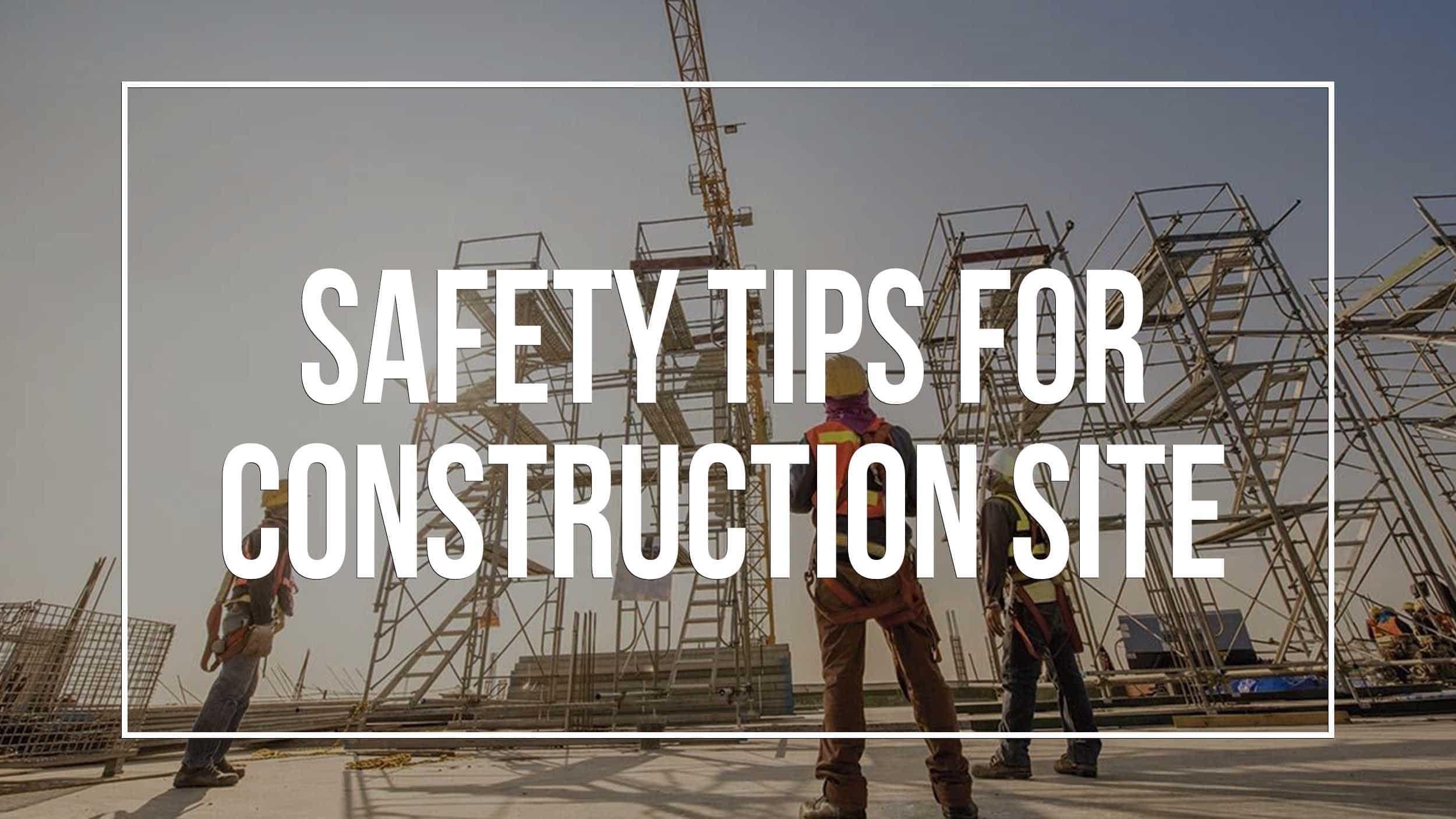 Essential Construction Safety Equipment Header