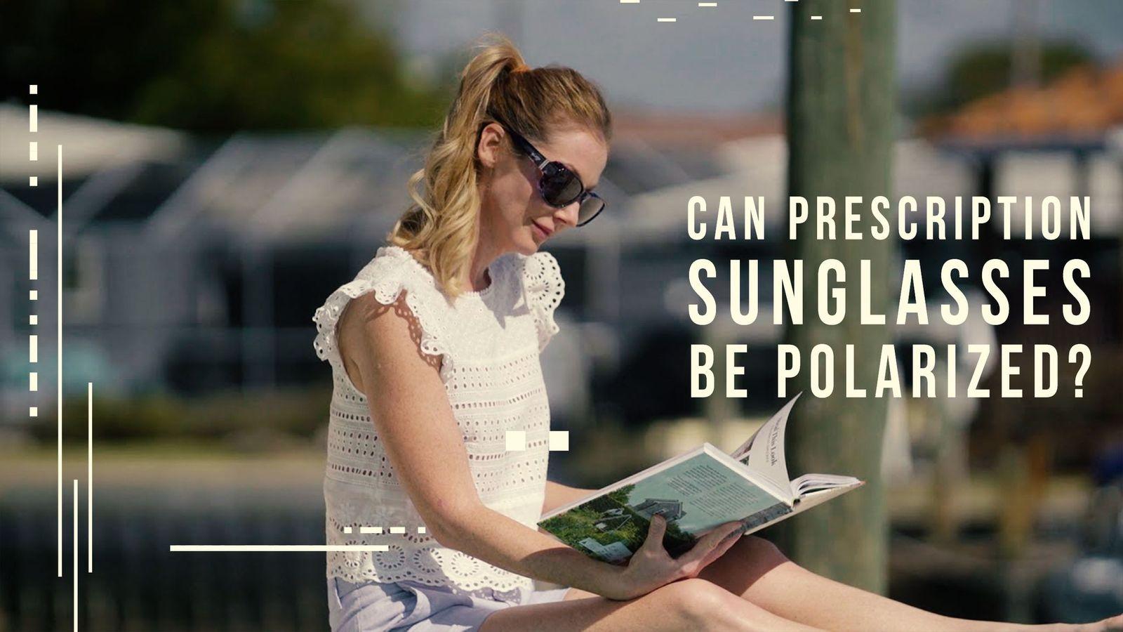 Polarized Prescription Sunglasses Header