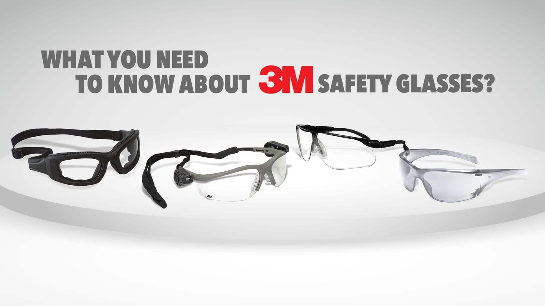 3M SAFETY GLASSES HEADER