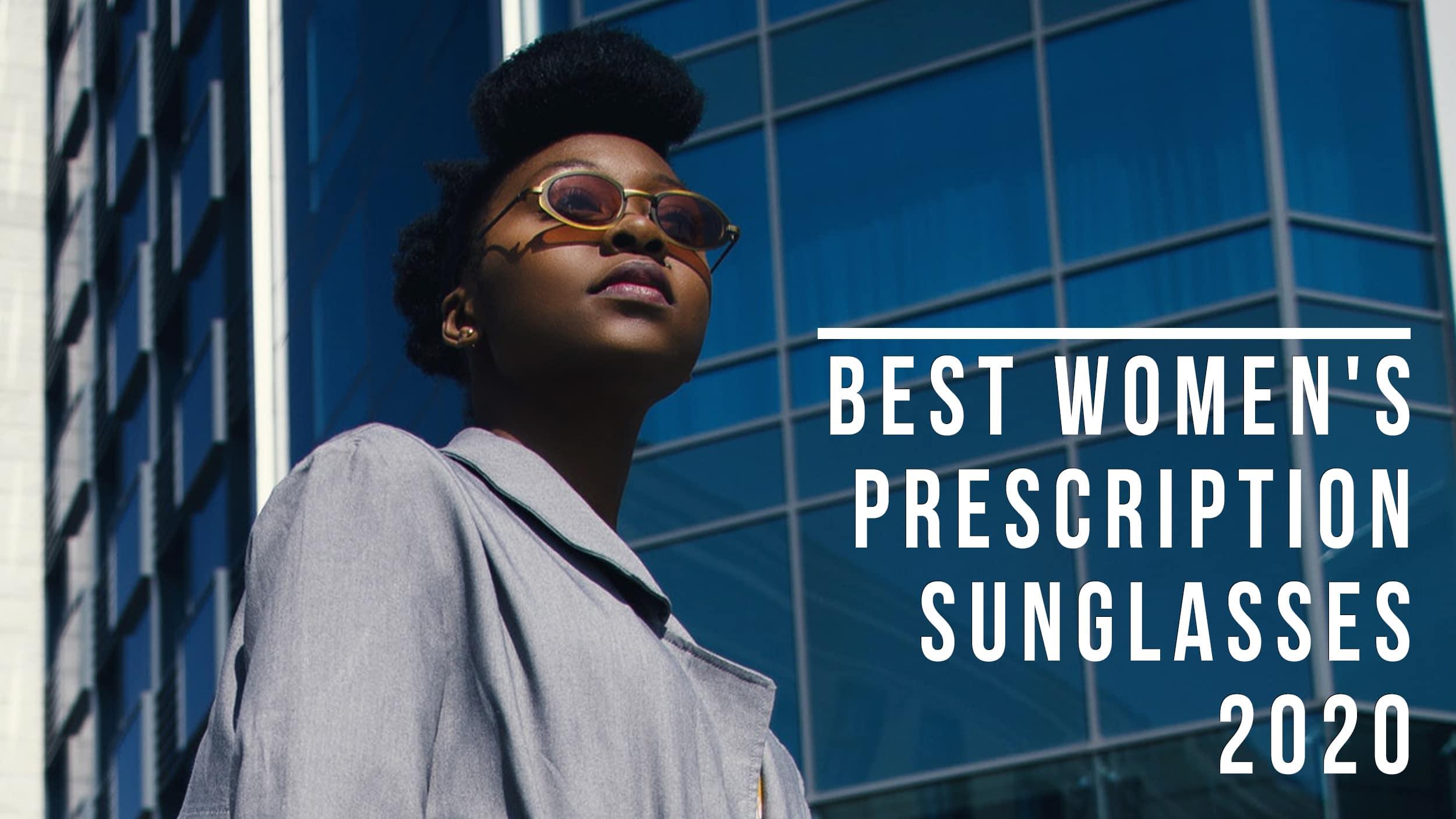 Best Women's Prescription sunglasses Header