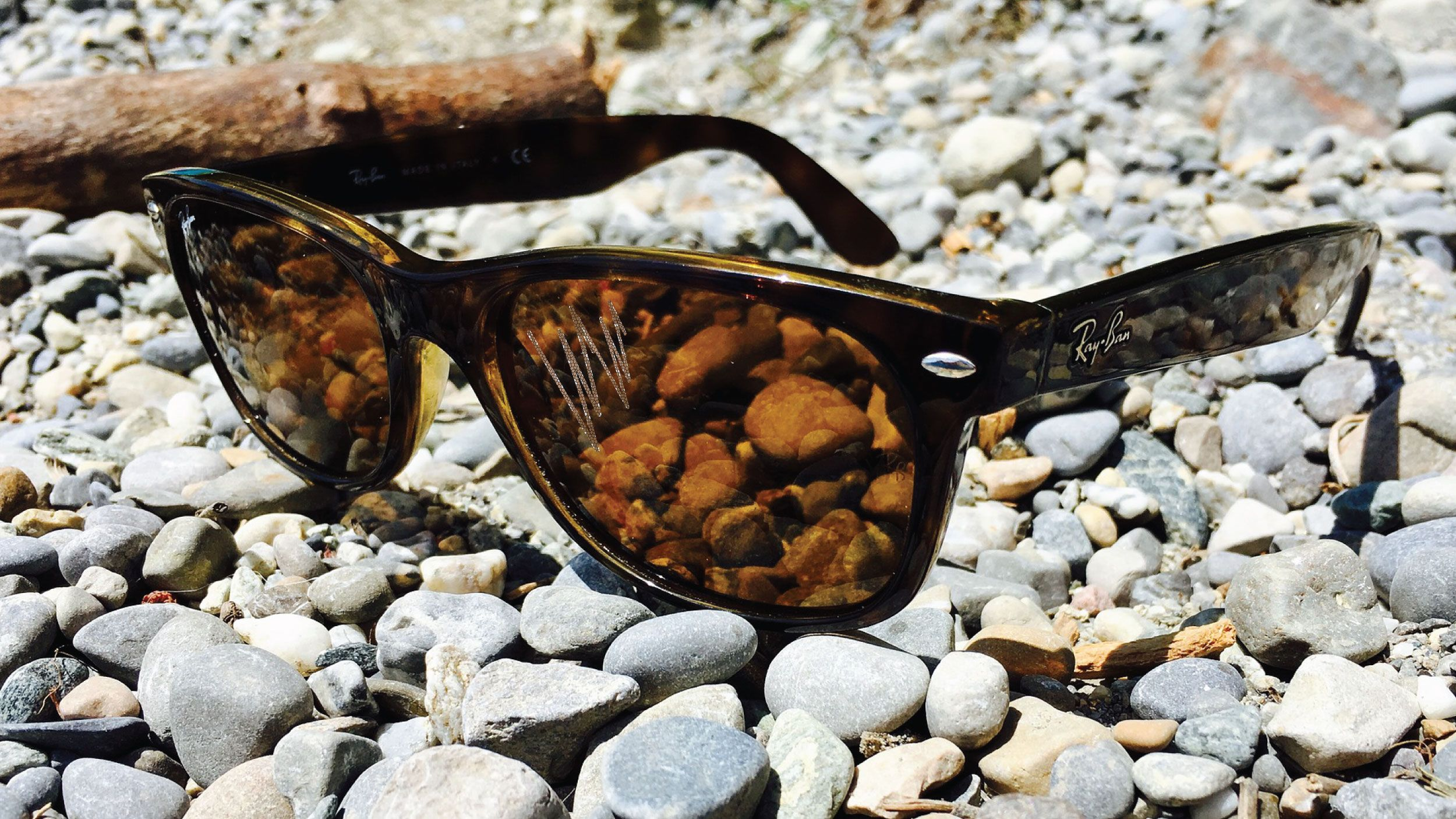 How to remove scratches from Ray-Ban sunglasses header