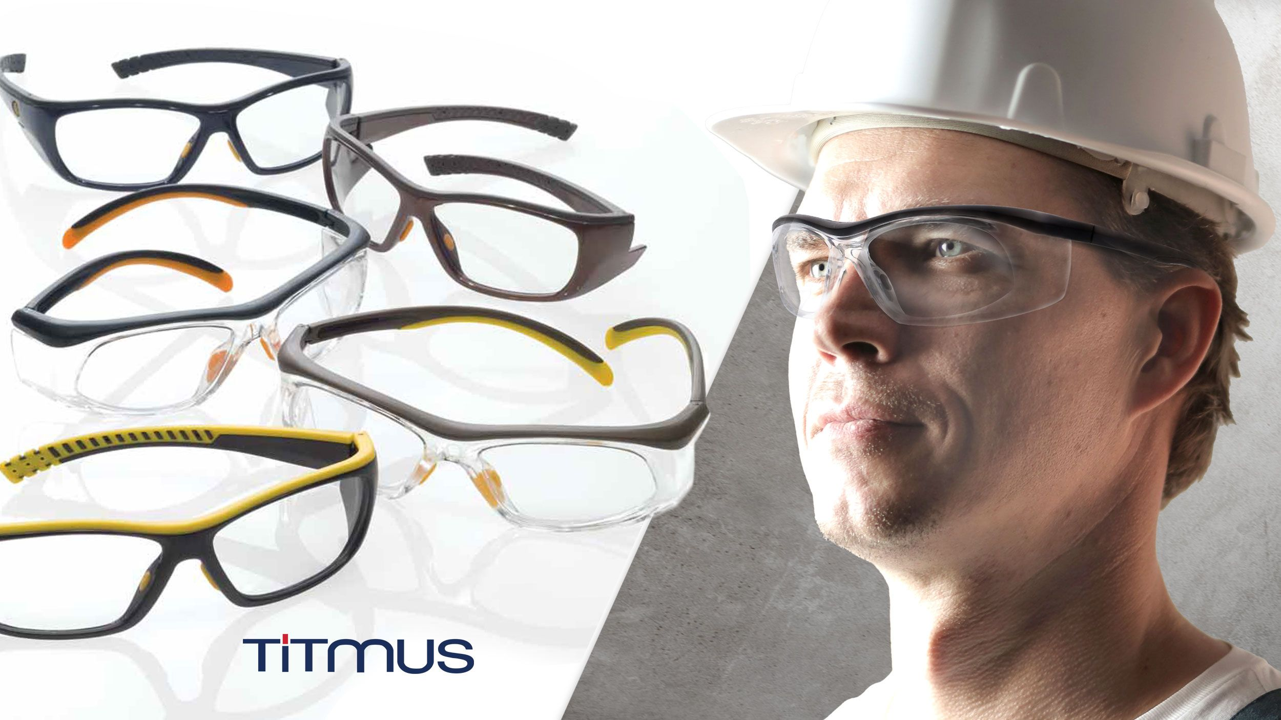 TITMUS SAFETY GLASSES SELECTION GUIDE HEADER