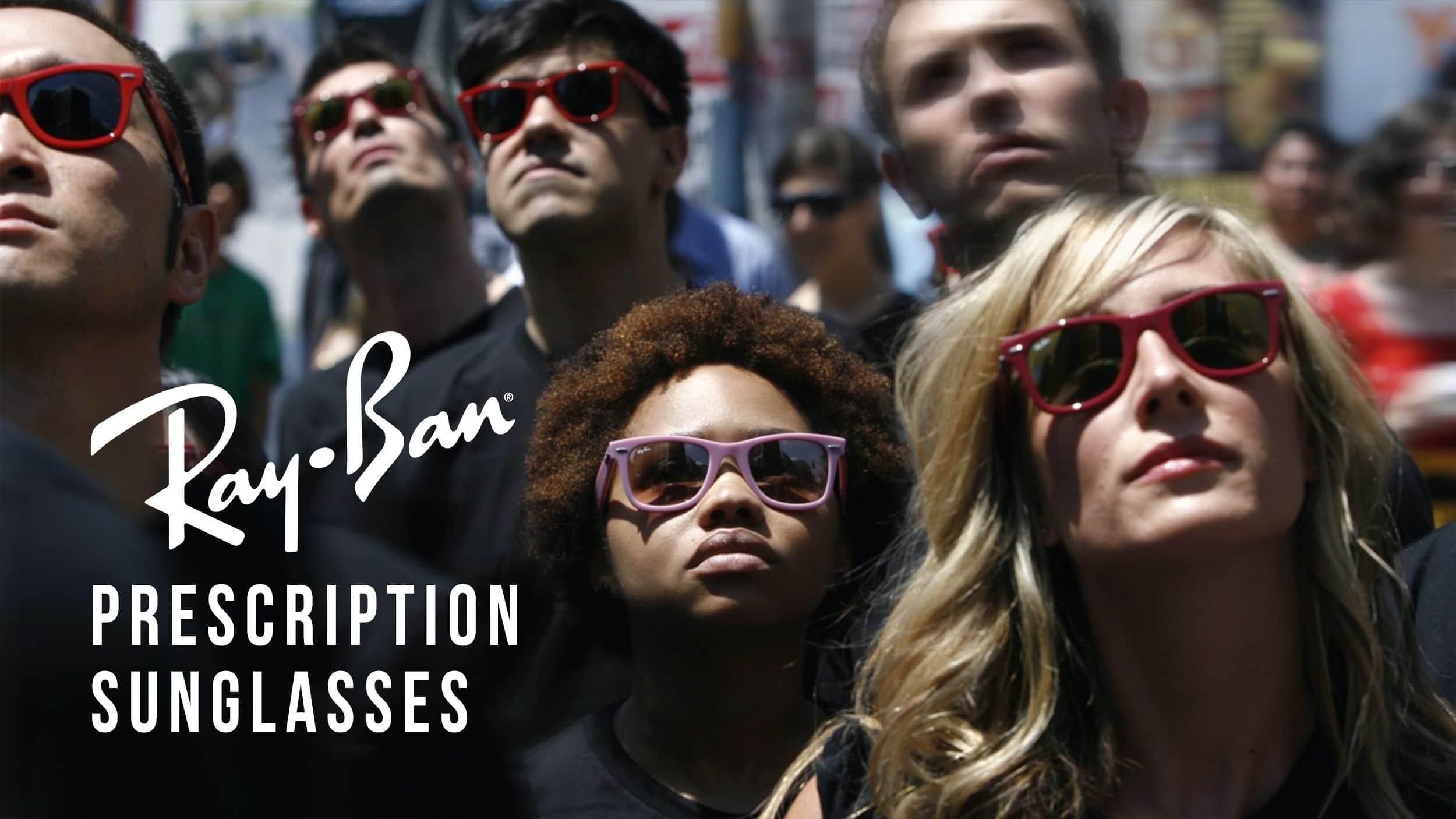 Ray Ban Prescription Sunglasses Header