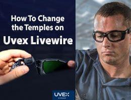 Livewire Uvex Safety Glasses Header