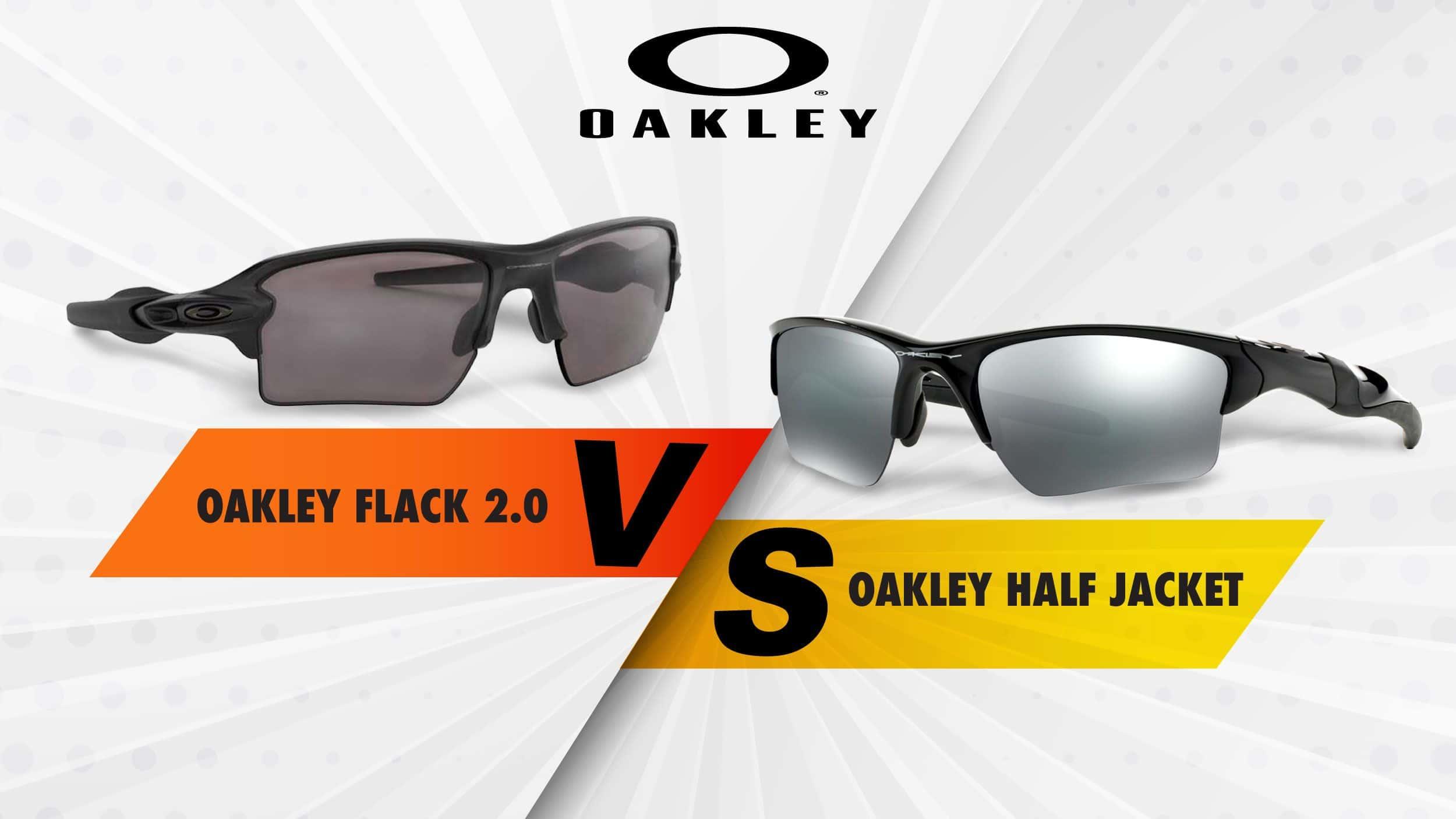 Oakley Flack 2.0 XL vs Oakley Half Jacket Header